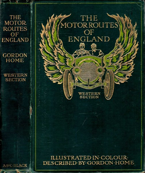 Image for The Motor Routes of England : Western Section
