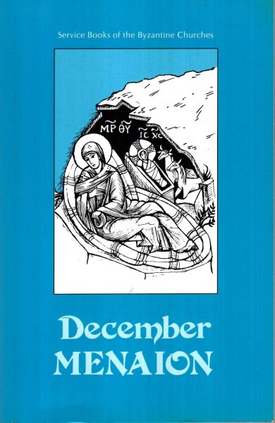 Image for December Menaion : Service Books of the Byzantine Churches