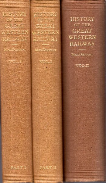 Image for History of the Great Western Railway (two volumes in three books)