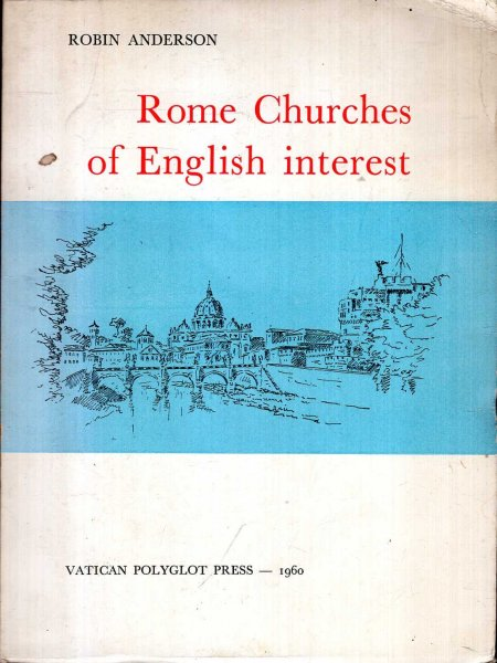 Image for Rome Churches of English Interest