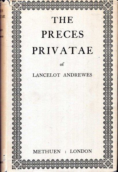 Image for The Preces Privitae of Lancelot Andrewes
