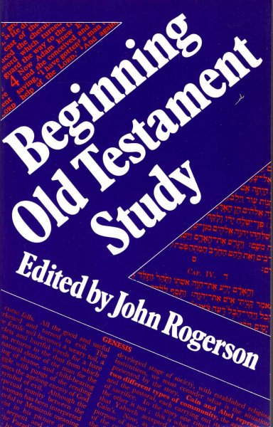 Image for Beginning Old Testament Study