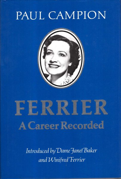 Image for Ferrier : A Career Recorded