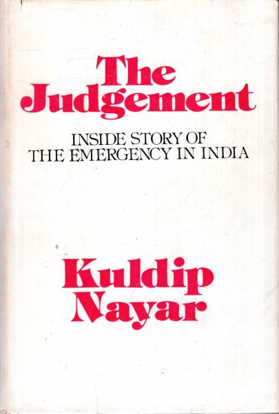 Image for The Judgement - Inside story of the Emergency in india