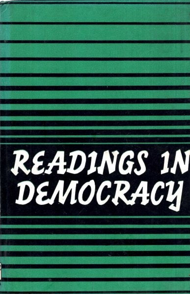 Image for Readings in Democracy