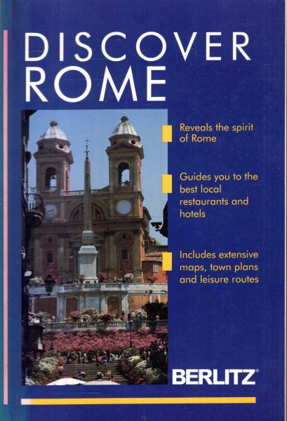 Image for Discover Rome (Berlitz Discover Series)