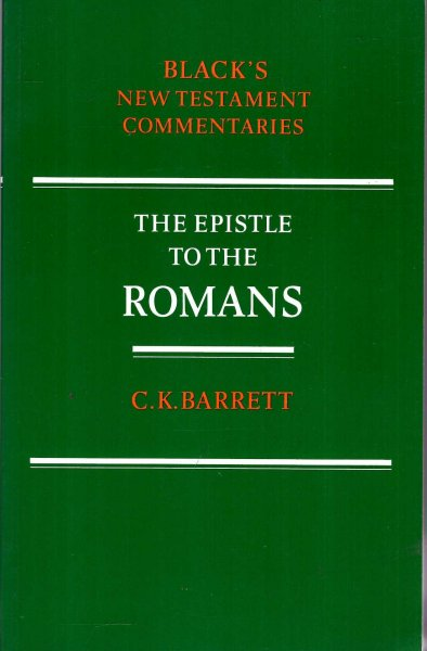 Image for New Testament Commentaries: The Epistle to the Romans