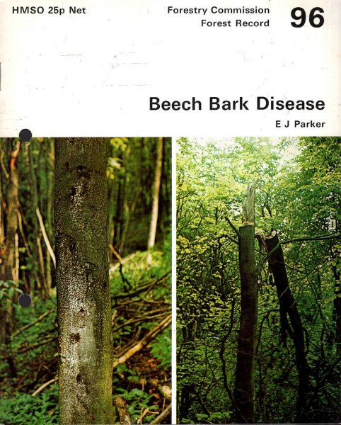 Image for Forestry Commission : Forest Record No 96 : Beech Bark Disease