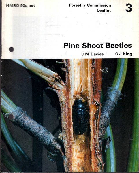 Image for Forestry Commission Leaflet No 3 : Pine Shoot Beetles