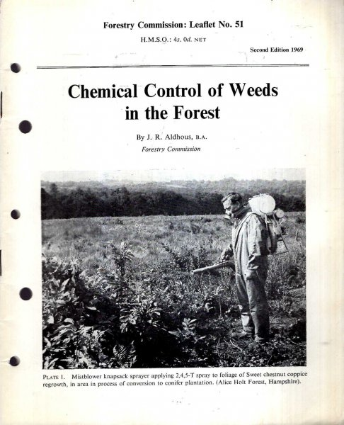 Image for Forestry Commission Leaflet No 51 : Chemical Control of Weeds in the Forest
