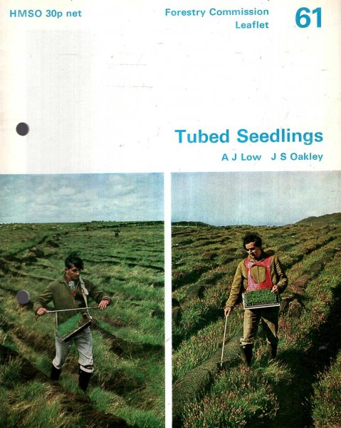 Image for Forestry Commission Leaflet No 61 : Tubed Seedlings