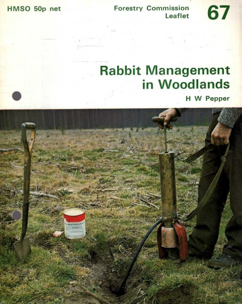 Image for Forestry Commission Leaflet No 67 :Rabbit Management in Woodlands