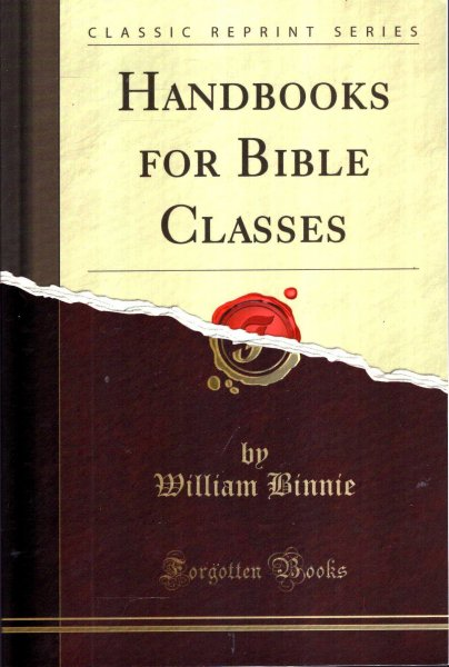 Image for Handbooks for Bible Classes : The Church