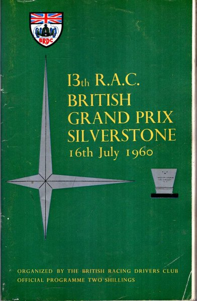 Image for 13th R.A.C. British Grand Prix Silverstone, 16th July 1960