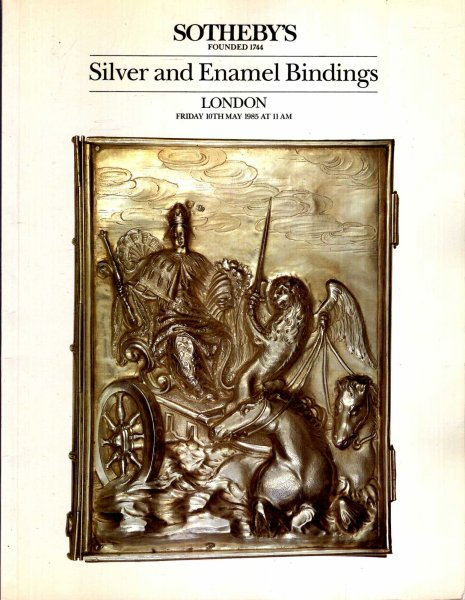Image for Silver and Enamel Bindings 19th May 1985