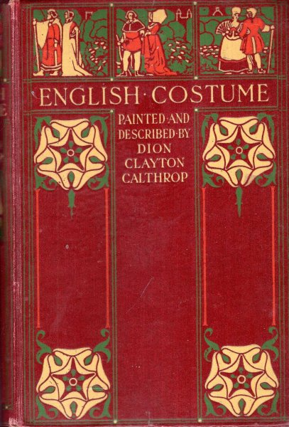 Image for English Costume painted and described