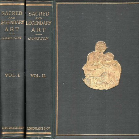 Image for Sacred and Legendary Art (two volumes complete)