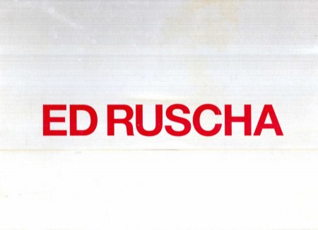 Image for Ed Ruscha Paintings : Gagosian Gallery February 5 - March 22, 2008
