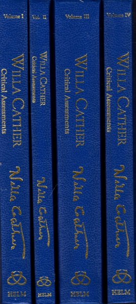 Image for Willa Cather : Critical Assessments (four volumes complete)