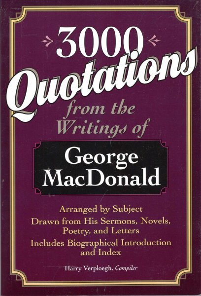 Image for 3000 Quotations from the Writings of George MacDonald
