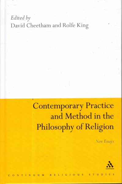 Image for Contemporary Practice and Method in the Philosophy of Religion : New Essays