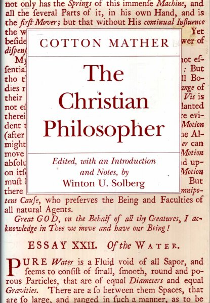 Image for The Christian Philosopher