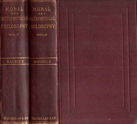 Image for Moral and Metaphysical Philosophy (two volumes complete)