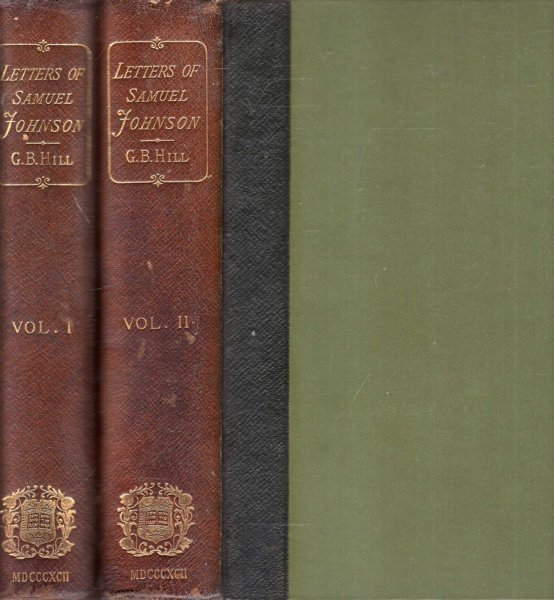 Image for Letters of Samuel Johnson (two volumes complete)