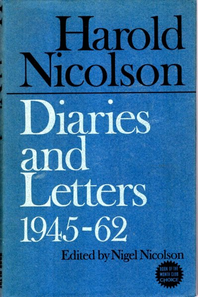 Image for Diaries and Letters 1945-1962