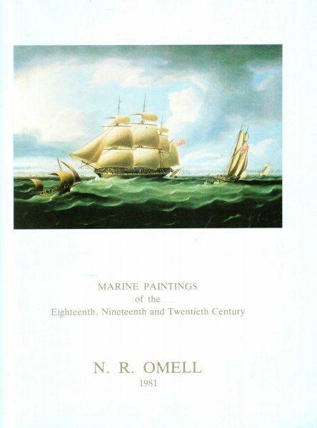 Image for Marine Paintings of the Eighteenth, Nineteenth and Twentieth Century, October 6 to November 6 1981