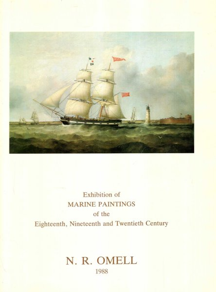 Image for Marine Paintings of the Eighteenth, Nineteenth and Twentieth Century, October 4 to November 4 1988