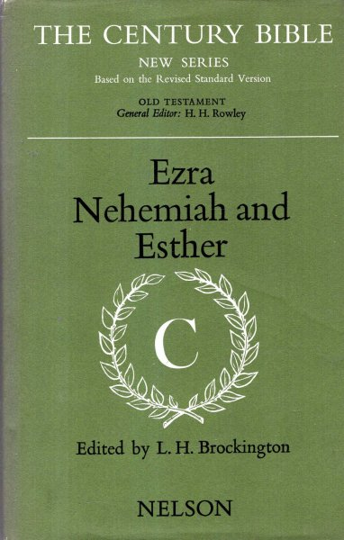 Image for Ezra, Nehemiah and Esther (New Century Bible)