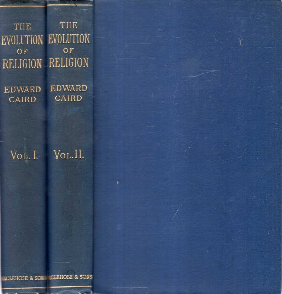 Image for The Evolution of Religion (two volumes complete)