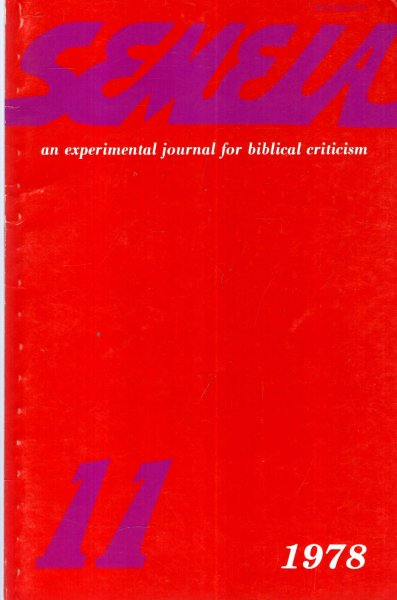 Image for Semeia : an experimental journal for biblical criticism - No 11 : Early Christian Miracle Stories