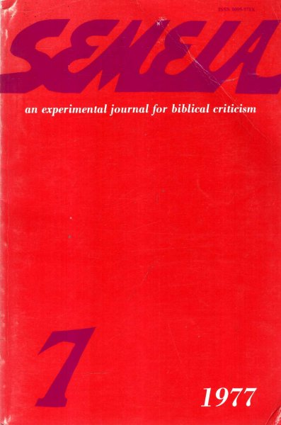 Image for Semeia : an experimental journal for biblical criticism - No 7 : Studies in the Book of Job