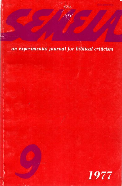 Image for Semeia : an experimental journal for biblical criticism - No 9 : Polyvalent Narration
