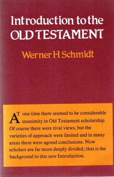 Image for Introduction to the Old Testament