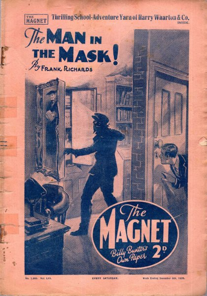 Image for The Magnet No1660, vol LVI : December 9th 1939 - The Man in the Mask