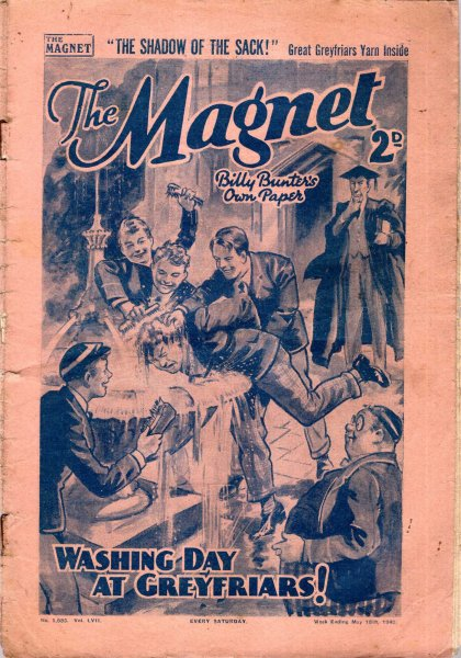 Image for The Magnet No1683, vol LVII : May 18th 1940 : The Shadow of the Sack! (Final Issue)