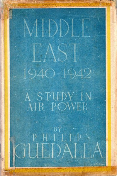 Image for Middle East 1940-1942 a study in air power