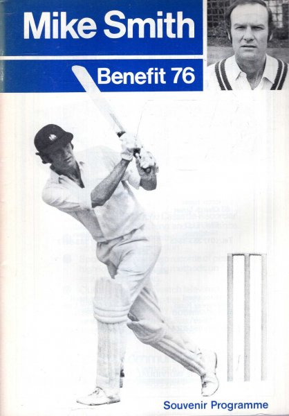 Image for Mike Smith Benefit '76 - souvenir programme