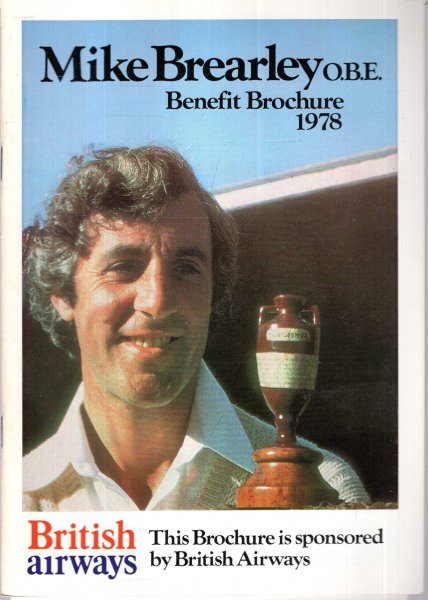Image for Mike Brearley Benefit 1978 - souvenir programme