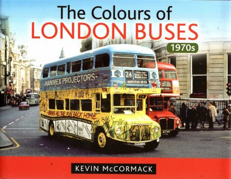 Image for The Colours of London Buses 1970s