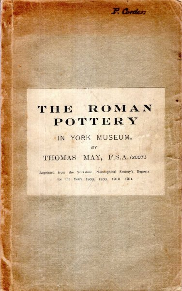 Image for The Roman Pottery in York Museum (four parts in one volume)