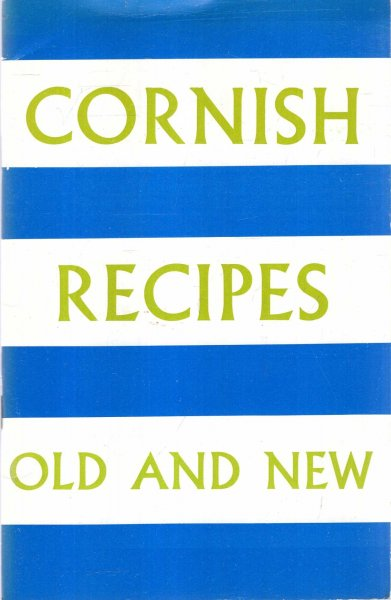 Image for Cornish Recipes, Old and New