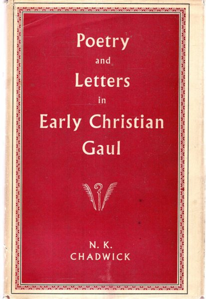 Image for Poetry and Letters in Early Christian Gaul
