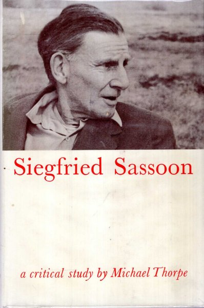 Image for Siegfried Sassoon, a critical Study