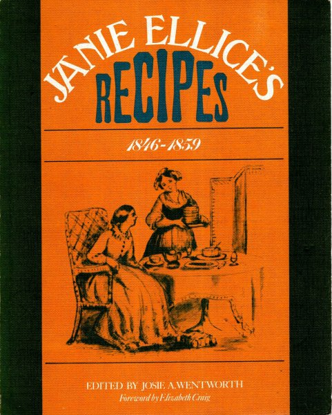 Image for Janie Ellice's Recipes, 1846-59