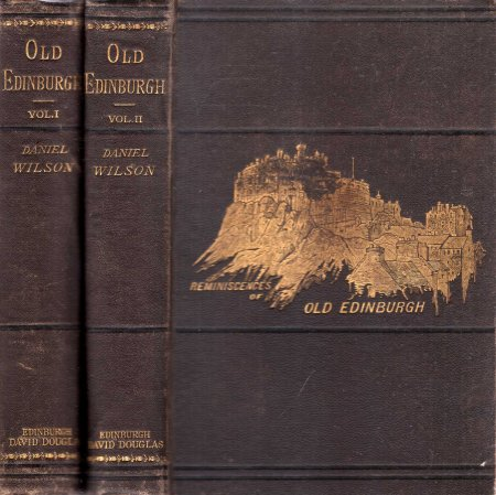 Image for Reminiscences of Old Edinburgh (two volumes)