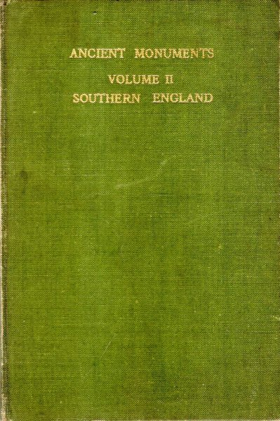 Image for Illustrated Regional Guide to Ancient Monuments, volume II : Southern England